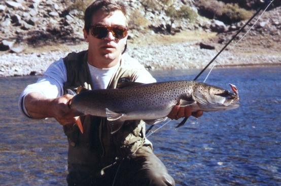 Mongolie 2001, rivière Chulut