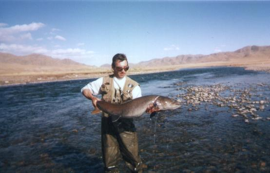 Mongolie 2001, rivière Ider
