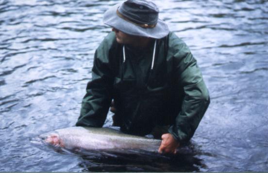 Colombie Britannique 1996, rivière Kispiox